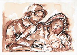 sagrada familia maria diufain