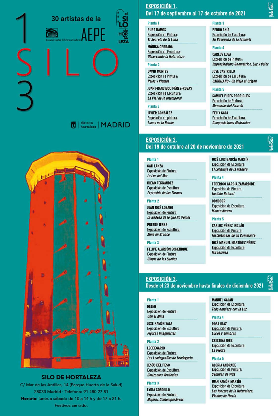 123 silo programa asociacion arte y fe